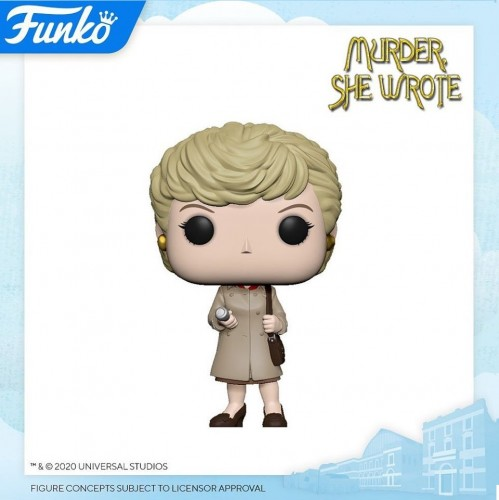 Funko Pop Murder, She Wrote-Funko-1
