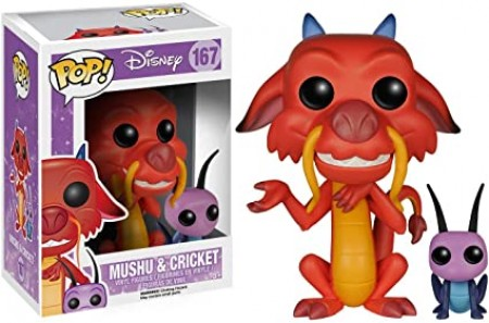 Funko Pop Mushu With Cricket-Mulan-167
