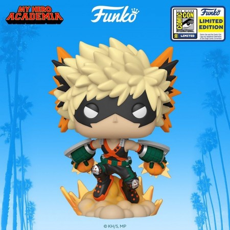 Funko Pop My Hero Academia - Bakugo Exclusivo Sdcc 2020-My Hero Academia-1