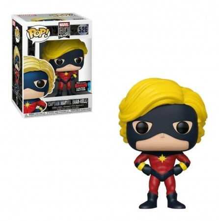 Funko Pop Novo 526 Captain Marvel (mar-vell) - Limited Edition-Marvel 80 Years-526