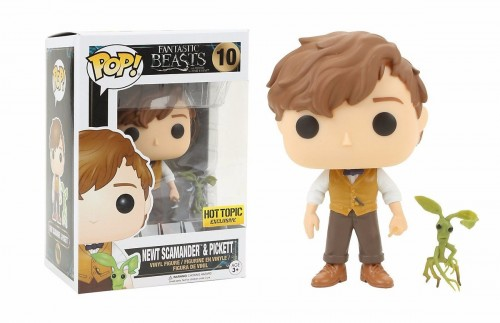 Funko Pop Newt Scamander &pickett-Animais Fantásticos-10