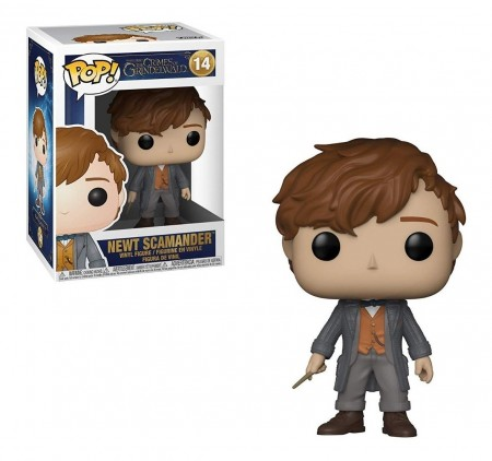 Funko Pop Newt Scamander-The Crimes Of Grindelwald-14