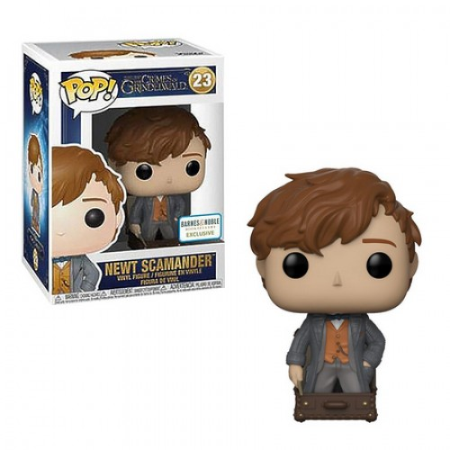 Funko Pop Newt Scamander Exclusivo Barnes & Noble-The Crimes Of Grindelwald-23