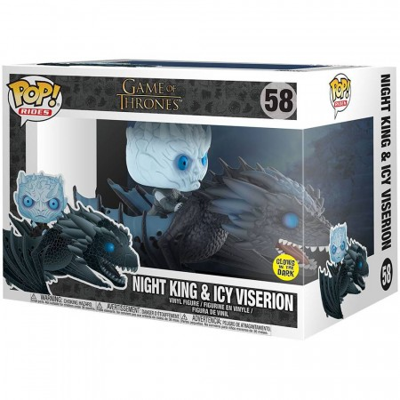 Funko Pop Night King & Icy Viserion-Game Of Thrones-58