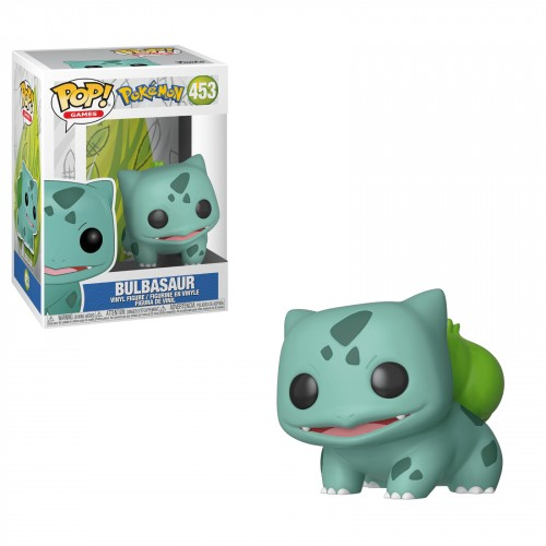 Funko Pop Original - Pokemon - Bulbasaur-Pokemon-453