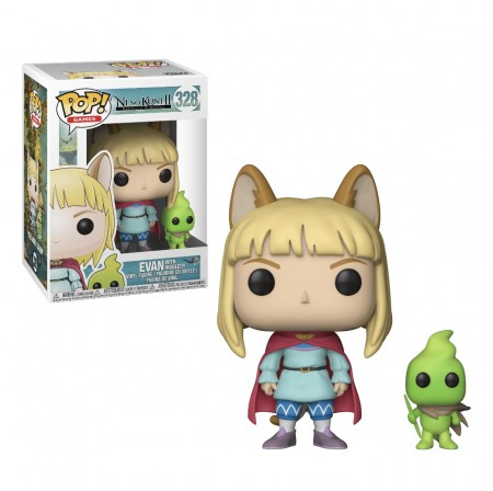 Funko Pop Original Evan With Higgledy Vaulted-Ni No Kuni-328