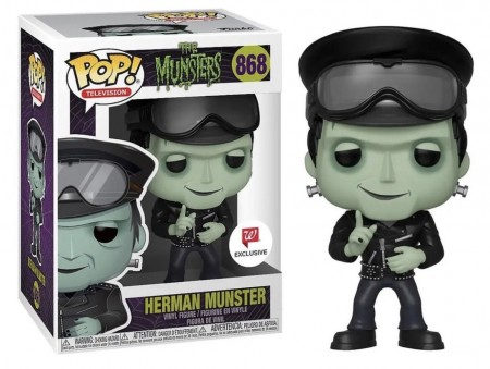 Funko Pop Original Herman Munster Exc Walgreens (cx Avariada)-The Munsters-868