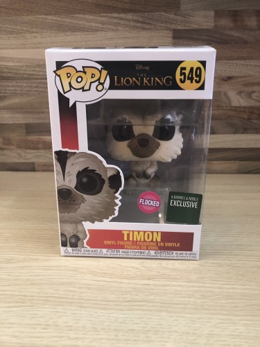 Funko Pop Original Timon Flocked Exc Barnes - Lion King - #549