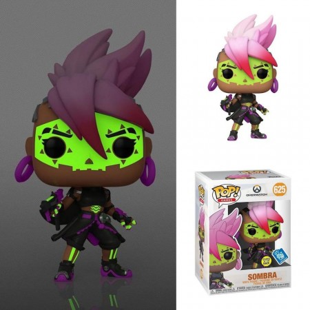 Funko Pop Overwatch - Sombra Muertos Gitd Exclusiva Gamestop-Overwatch-625