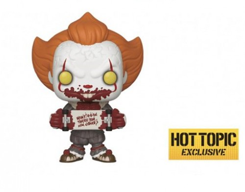 Funko Pop Pennywise Hot Topic-Pennywise-100