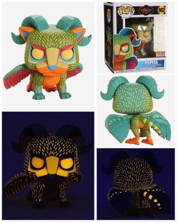 Funko Pop Pepita Glow In The Dark Boxlunch-Coco-982