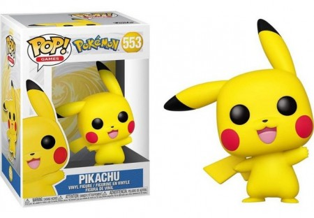 Funko Pop Pikachu-Pokemon-553