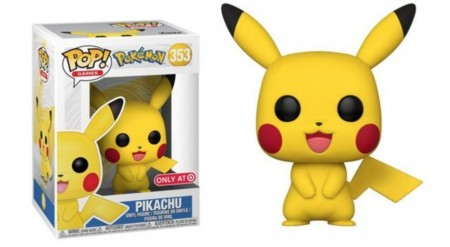 Funko Pop Pikachu-Pokemon-353