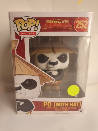 Funko Pop PÓ (with Hat)-Kung Fu Panda-252