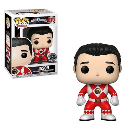 Funko Pop Power Rangers Jason - Power Rangers - #670