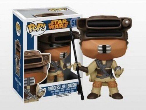 Funko Pop Princess Leia (boushh) Star Wars - Star Wars - #50