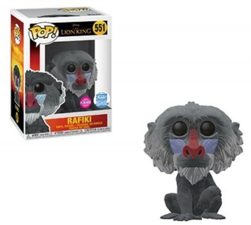 Funko Pop Rafiki Flocked - Exclusivo Funkoshop-O Rei Leão-551