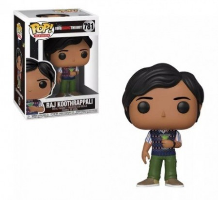 Funko Pop Raj Koothrappali-The Big Bang Theory-781