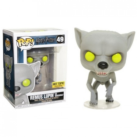 Funko Pop Remus Lupin As Werewolf Exclusivo Hot Topic-Harry Potter-49