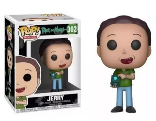 Funko Pop Rick And Morty 302 - Jerry-Rick and Morty-302