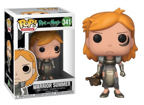 Funko Pop Rick And Morty - Warrior Summer - Rick and Morty - #341
