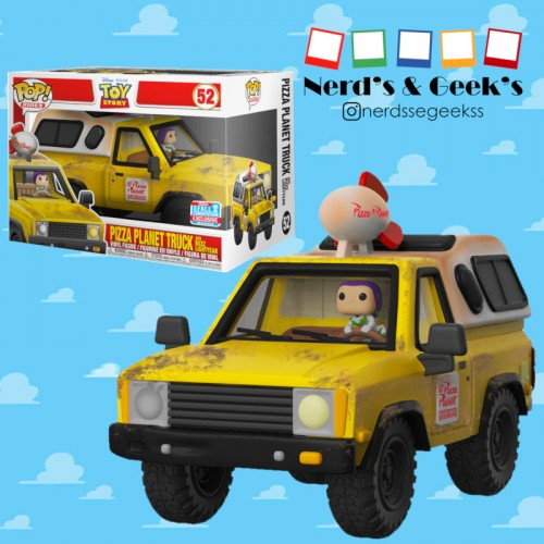 Funko Pop Ride Pizza Planet Truck Exclusivo Nycc 2018-Toy Story-52