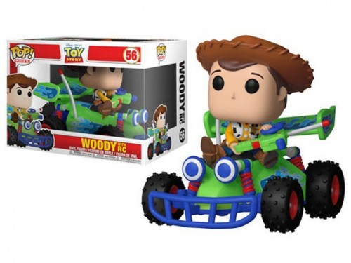 Funko Pop Rides - Woody With Rc-Toy Story-56