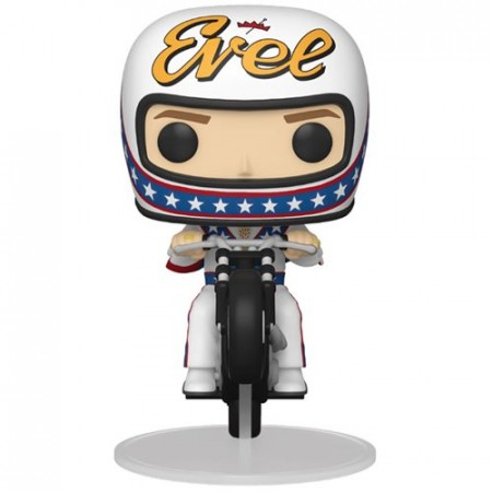 Funko Pop Rides Evel Knievel On Motorcycle-Icons-101