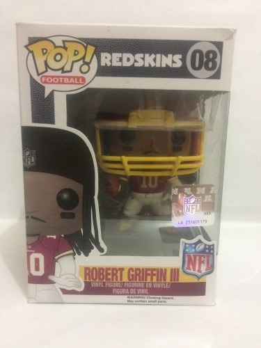 Funko Pop Robert Griffin Iii - Redskins - Vaulted-NFL-8
