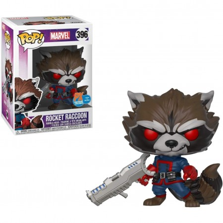Funko Pop Rocket Raccoon Exclusive-marvel-396