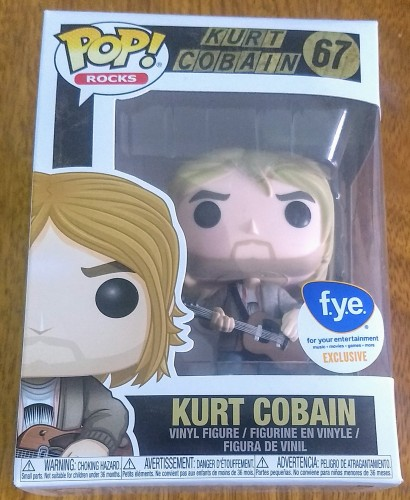 Funko Pop Rocks - Kurt Cobain F.y.e Exclusive-Rocks-67