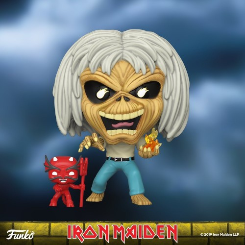 Funko Pop Rocks- Iron Maden Number Of The Beast ( Skelleton Eddie ) - Rocks - #1