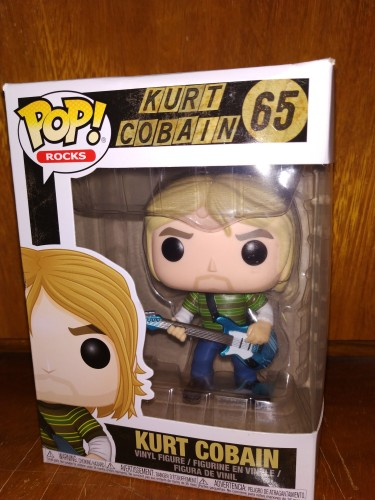 Funko Pop Rocks- Kurt Cobain 65-Rocks-65