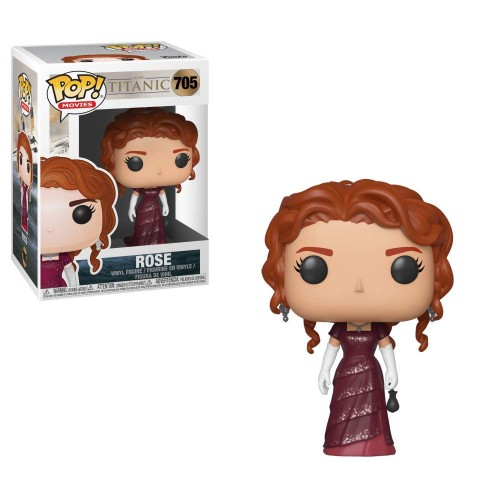 Funko Pop Rose Titanic-Titanic-705