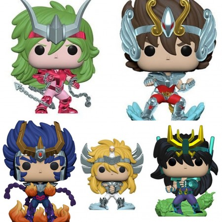 Funko Pop Set Cavaleiros Do Zodíaco Sant Seiya Toy Fair 2020-Saint Seiya-5