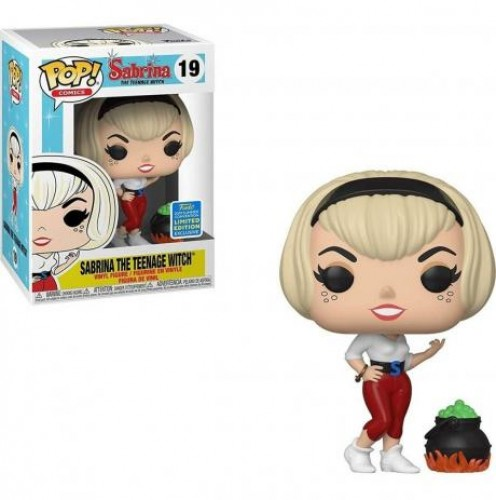Funko Pop Sabrina The Teenager Witch Sdcc-Sabrina The teenage witch-19