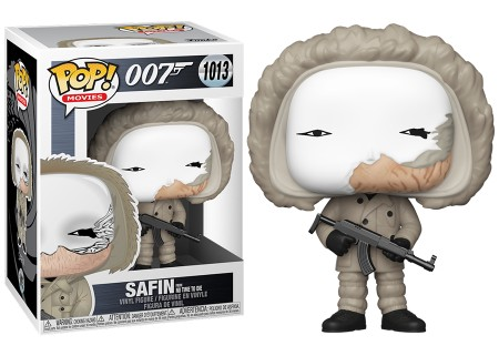 Funko Pop Safin From No Time To Die-007 James Bond-1013