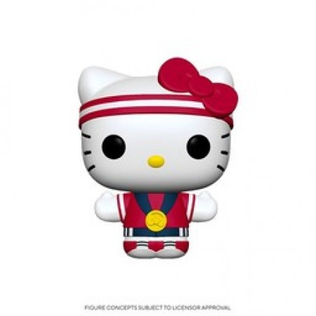 Funko Pop Sanrio Ny Toy Fair 2020- Hello Kitty Gold Metal ( Amazon )-Sanrio-1