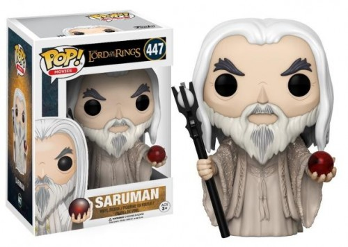 Funko Pop Saruman Lord Of The Rings-Senhor dos Anéis-447