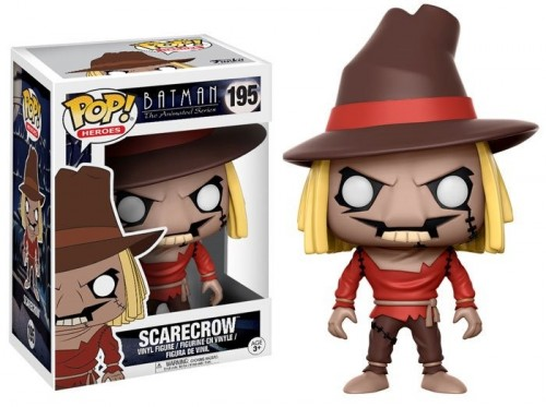Funko Pop Scarecrow-Batman The Animated Series-195