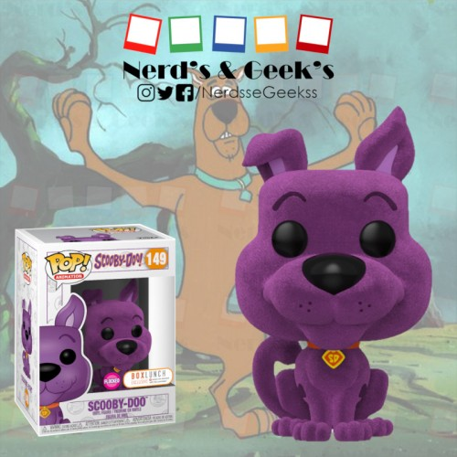 Funko Pop Scooby Doo Flocked Exclusivo Boxlunch - Scooby Doo - #149