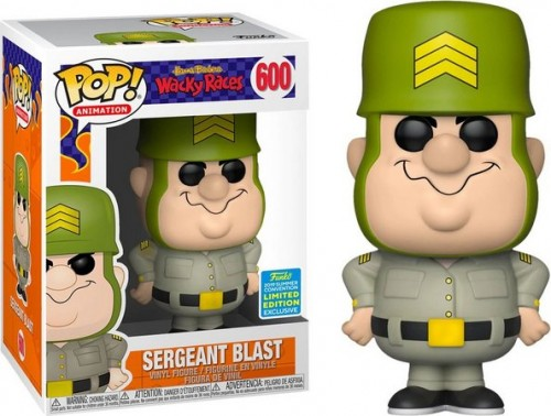 Funko Pop Sergeant Blast Exclusive - wacky races - #600