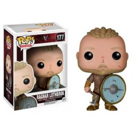 Funko Pop Series - Vikings - Ragnar Lothbrok  177-Vikings-177
