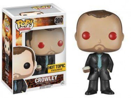 Funko Pop Series- Supernatural - Crowley 200 ( Hot Topic ) *danos Na Caixa*-Supernatural-200