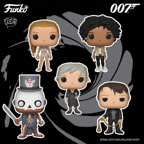 Funko Pop Set 007 James Bond-007 James Bond-100