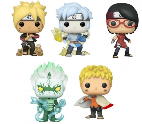 Funko Pop Set Boruto: Naruto Next Generations - 5 Pops-Funko-1