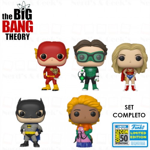 Funko Pop Set Completo The Big Bang Theory. Exclusivos Sdcc2019-The Bing Bang Theory-1