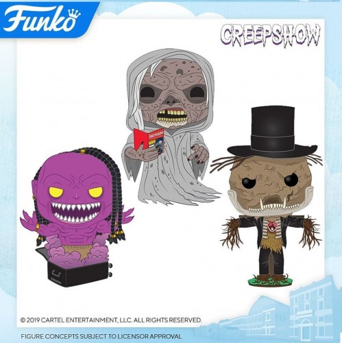 Funko Pop Set Creepshow - 3 Pops-Funko-1