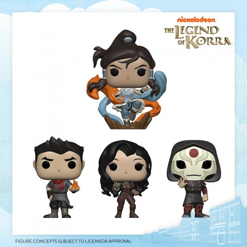 Funko Pop Set Legends Of Korra-Legends of Korra-100