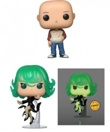 Funko Pop Set One Punch Man - 2 Regulares + 1 Chase-Funko-1